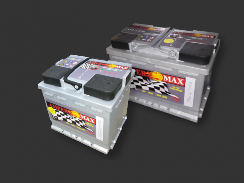 akumulator amper max silver